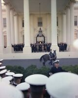 Naval Academy Choir performs at White House for JFK funeral New 8x10 Photo