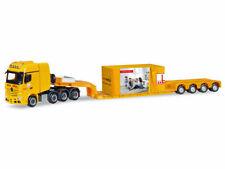 Herpa 308373 h0 camiones Mercedes actros SLT profundo de carga-conducirse con enormemente Max bögl