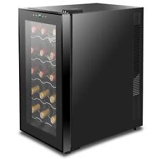 Wine Refrigerator Cooler Freestanding Digital Temperature Control Quiet Operate