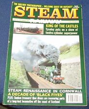 STEAM RAILWAY MAGAZINE DECEMBER 1989 - KING OF THE CASTLES