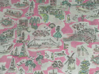 Liberty Tana Lawn Cotton Fabric ISLE OF WIGHT 0.85m (85cm) - Pink