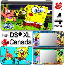 Spongebob Squarepants SKIN DECAL COVER for DSi XL LL #1
