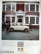 Austin 'Seven' 850cc Mini 1960 Car Advert (523C) Original Auto Print Ad