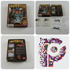 Night Hunter A UBI Soft Game for the Atari ST Computer tested & working