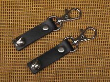 BLACK Retrofit BANJO Swivel Clip Strap Adaptor - Set of 2 - TROPHY - USA - made