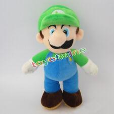 """Neue Super Mario Bros. Stand LUIGI Plüsch Puppe Stofftier 10 """""""
