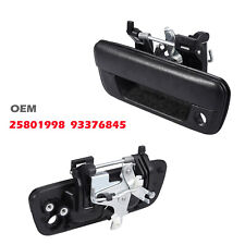 Outer Tailgate Handle Black w/ KeyHole For Chevy Colorado GMC Canyon OE 93376845