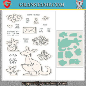 KANGAROO & COMPANY Metal Cutting Dies and Stamps (Price include STAMP and DIE)