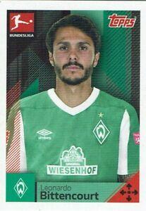 Topps Bundesliga 20/21 Official Sticker 2020/2021 No. 096 Leonardo Bittencourt