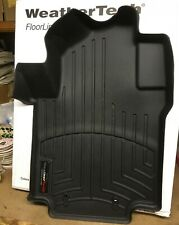 WeatherTech FloorLiner for Chevy City Express/Nissan NV200 - 1st Row - Black