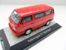 + VW T3 b Bus Multivan Redstar 1:43 + Premium Classixxs +