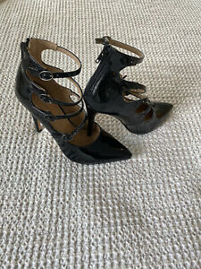 EXPRESS Strappy Buckle Heels