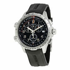 Hamilton X-Wind Chronograph Black Dial Mens Swiss Quartz Chrono Watch H77912335