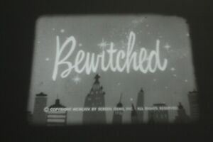 Bewitched, 16mm TV print from 1968, commercials intact with Elizabeth Montgomery