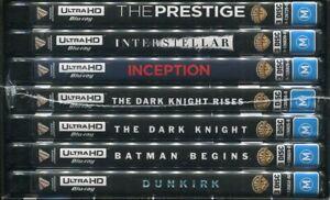 Christopher Nolan Collection 4k Ultra HD 21-disc box NEW Dark Knight Prestige