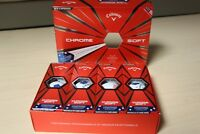 Brand NEW Limited Ed. 2018  Callaway Chrome Soft Truvis Stars Stripes Golf Balls