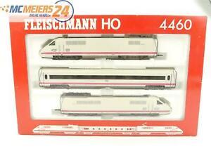 E236 Fleischmann H0 4460 Zugset 3-tlg ICE Triebwagenzug + Personenwagen NEM
