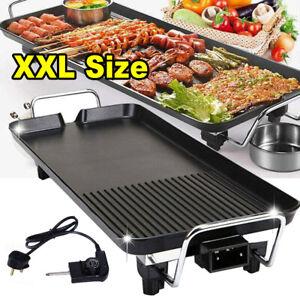 XXL Tischgrill elektrisch Elektrogrill 1500W Grill Indoor Tragbar BBQ Smokeless