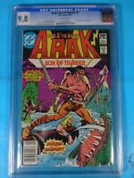 CGC Comic graded 9.8 ARAK son of thunder DC #1 Key issue