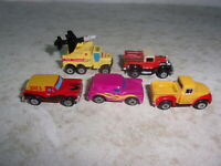 Lot of 5  Galoob Micro Machines Vehicles
