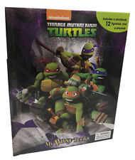 Teenage Mutant Ninja Turtles My Busy Book Educational Activity Story Book New