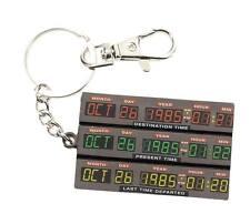 Porte clés officiel Retour vers le futur porte clés BTTF Time control keychain