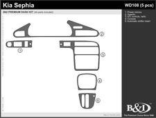 Dash Trim Kit for Kia Sephia 95 96 97 carbon fiber wood aluminum