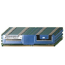 Micron 128GB 16x8GB 2Rx4 PC2-5300F DDR2-667 FB-DIMM Fully Buffered Server Memory