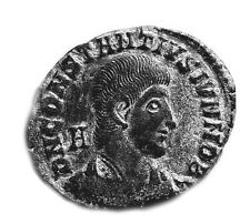 ROMAN COIN - CONSTANTIUS II. 317-361AD - FEL TEMP REPARATIO - SISCIA MINT   #321