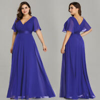 Ever-Pretty Plus Size Long Maxi Evening Party Dresses Cocktail Prom Gowns 09890