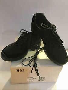 Dance Sneaker Split-Sole by Bloch Ladies Sz 11 Suede Leather/Mesh