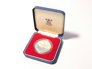 1977 Elizabeth II Silver Jubilee Proof Silver Coin no COA & a/f Box #JP2