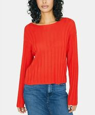 Sanctuary Women's Lillith Sweater New Mod Red Size 2XL