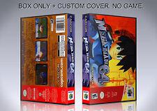 MEGAMAN 64. NTSC VERSION. Box/Case. Nintendo 64. BOX + COVER. (NO GAME).