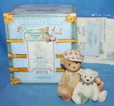 Cherished Teddies Bailey & Friend The Only Thing More Figurine # 662011 1999
