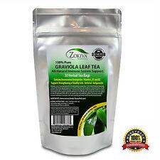 Graviola Tea (30 Bags) Soursop - Annona muricata - Premium 100% Pure Leaf