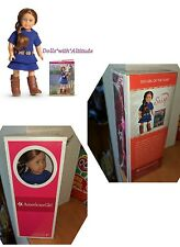 "AMERICAN GIRL MINI 6.5"" SAIGE DOLL GOTY 2013 & BOOK NIB NEW IN BOX"