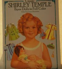 VINTAGE CLASSIC SHIRLEY TEMPLE Paper Dolls in Full Color-UNCUT