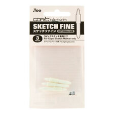 Copic Sketch Replacement Nib Fine point 3/pk