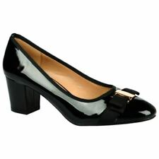 Zapatos de tacón de mujer de color principal negro sintético talla 41