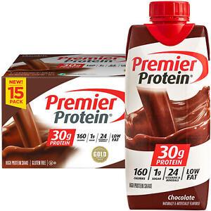 Premier Protein High Protein Shake, Chocolate (11 fl. oz., 15 pk)