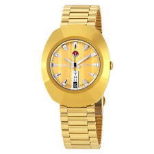 Rado The Original L Automatic Gold Dial Ladies Watch R12413633