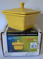 SUNFLOWER Store Exclusive Fiesta Square Covered Box, Candy Dish 1st Quality BELK