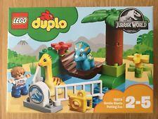 LEGO DUPLO 10879 JURASSIC WORLD Gentle Giants Petting Zoo-Nuovo
