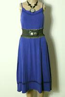 mint & berry Kleid Gr. M wadenlang royal-blau Shirt Träger Kleid