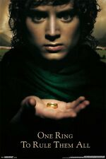 LORD OF THE RINGS - FELLOWSHIP OF THE RING - MOVIE POSTER - 24x36 - 14785