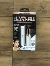Brand New JML Finishing Touch Flawless Cordless Rechargable Lady Shaver - White