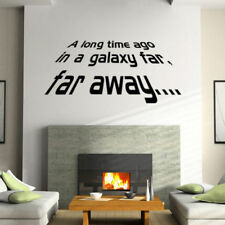 A long Time Ago Quote Star Wars Vinyl Art Wall Sticker Decals Home Decor N2C