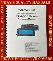 😊Highest Quality😊   Yaesu FTM-350 Operating Manual  😊😊C-MY OTHER MANUALS😊😊