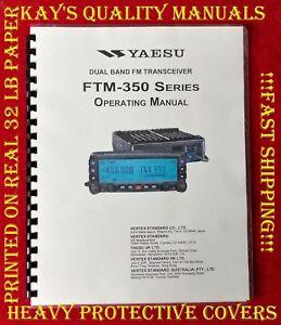 😊Yaesu FTM-350 Ham Radio Operating Manual 😊😊 C-MY OTHER MANUALS😊😊